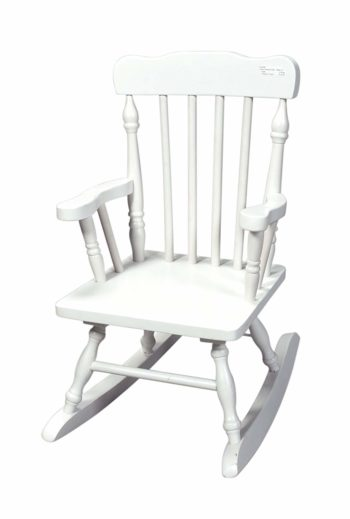 Gift Mark Colonial Rocking Chair-Wooden Rocking Chairs