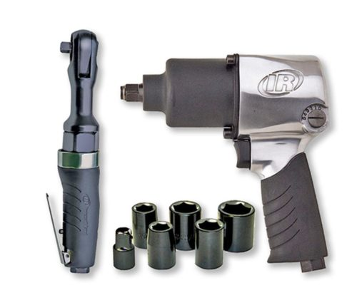 Ingersoll Rand 2317G Edge Series Air Impactool and Ratchet Kit