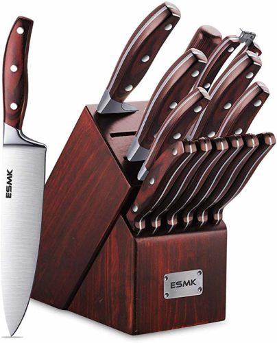 Knife Set, 15-Piece