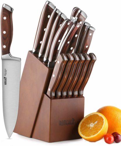 Knife Set,15-Piece Kitchen