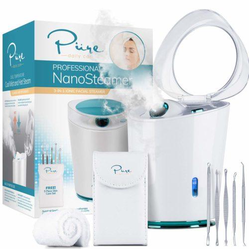 NanoSteamer PRO Professional 4-in-1 Nano Ionic Facial Steamer for Spas