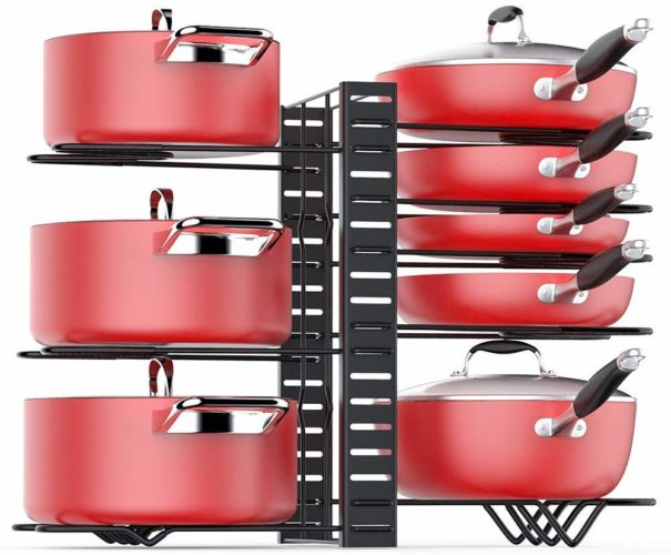 Pan Organizer Rack