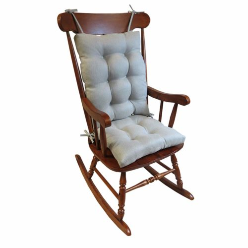 The Gripper Omega Rocking Chair Pad Set-Wooden Rocking Chairs