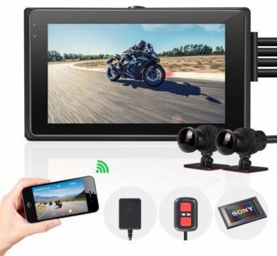 VSYSTO Motorcycle Dash Cams
