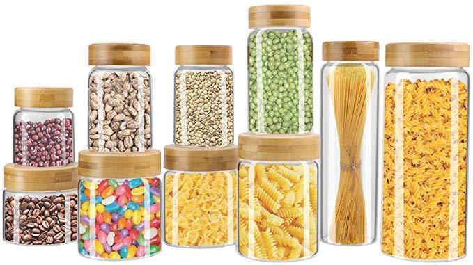 Weetall Glass Storage Jars