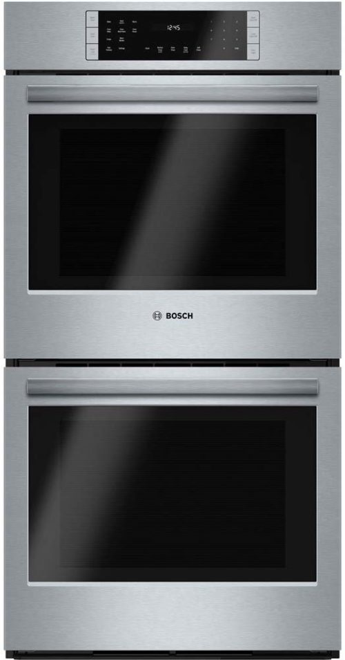 """Bosch HBN8651UC 800 27"""" Stainless Steel Electric Double Wall Oven - Convection"""