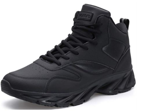 10. JOOMRA Men's Stylish Sneakers High Top Athletic-Inspired Shoes