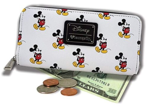 10. Loungefly Mickey All Over Wallet