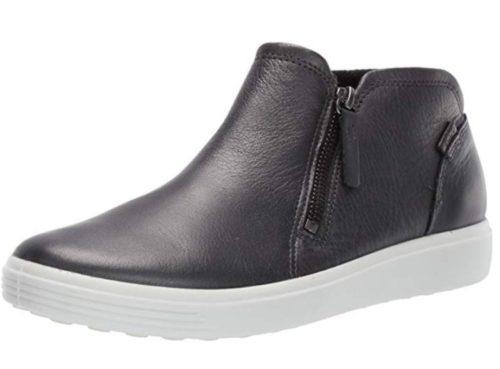 11. ECCO Women's Soft 7 Zip Bootie Sneaker