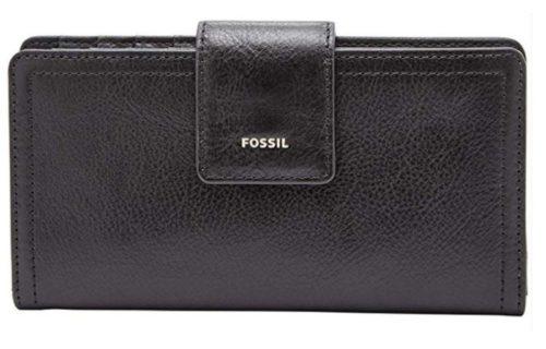 11. Fossil Women Logan RFID Tab Wallet