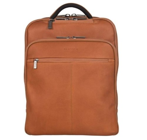 11. Kenneth Cole Reaction Back-Stage Access Slim Colombian Leather TSA Checkpoint