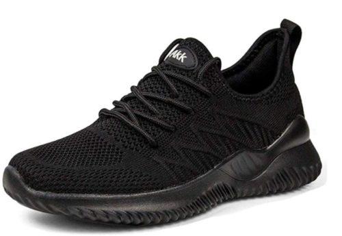2. Akk Womens Walking Tennis Shoes - Slip On Memory Foam Lightweight