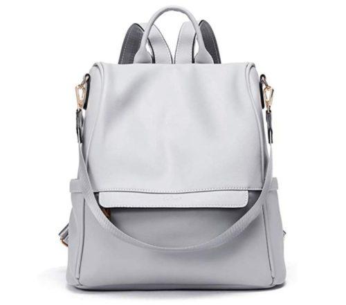 2. Valentine's Day Gift Women Backpack Purse Fashion Leather Large Designer
