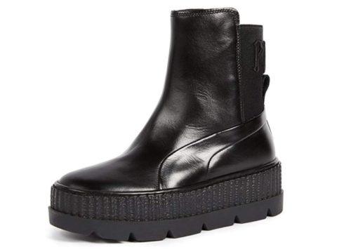 3. PUMA Women's Fenty x Chelsea Sneaker Boots
