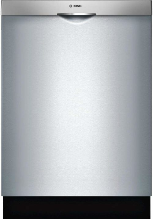 "Bosch SHSM63W55N 24"" 300 Series Built In Fully Integrated Dishwasher with 5 Wash Cycles, in Stainless Steel"