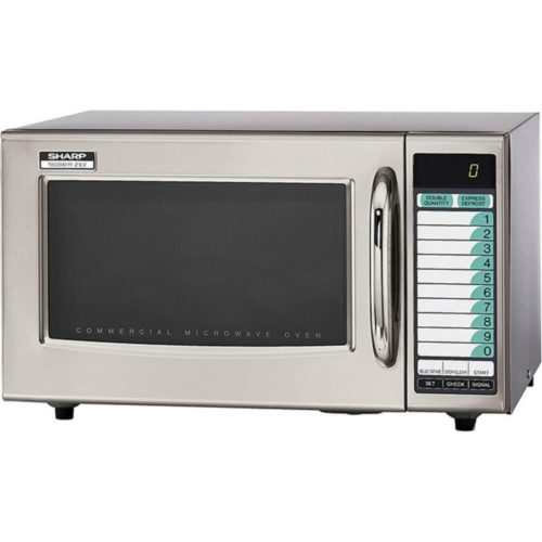 Sharp Medium-Duty Commercial Microwave Oven (15-0429) Category: Microwaves, R-21LVF