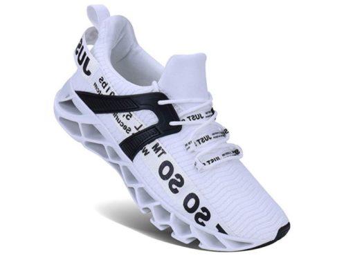 4. UMYOGO Mens Athletic Walking Blade Running Tennis Shoes Fashion Sneakers