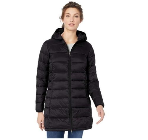 4.. Amazon Essentials Women's Lightweight Water-Resistant Packable Puffer Coat