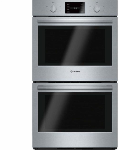 """Bosch HBL5551UC 500 30"""" Stainless Steel Electric Double Wall Oven"""