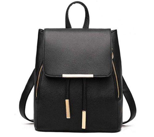 5. B&E LIFE Fashion Shoulder Bag Rucksack PU Leather Women Girls Ladies Backpack Travel bag