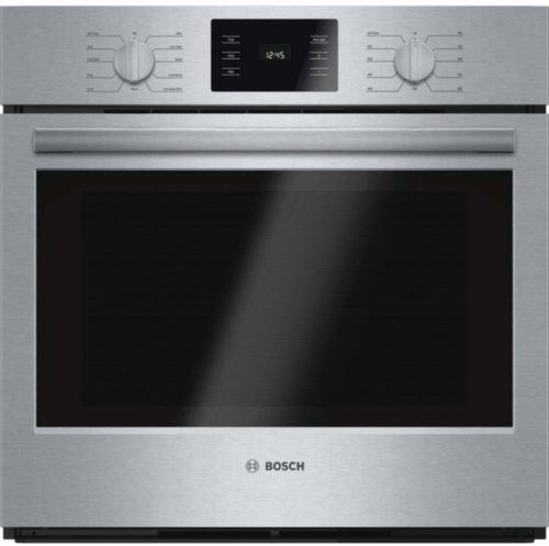 """Bosch HBL5451UC 500 30"""" Stainless Steel Electric Single Wall Oven - Convection"""