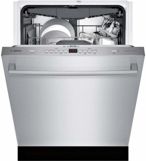 "Bosch SHXM63W55N 300 Series 24"" Built-In Fully Integrated Dishwasher with 5 Wash Cycles, in Stainless Steel"