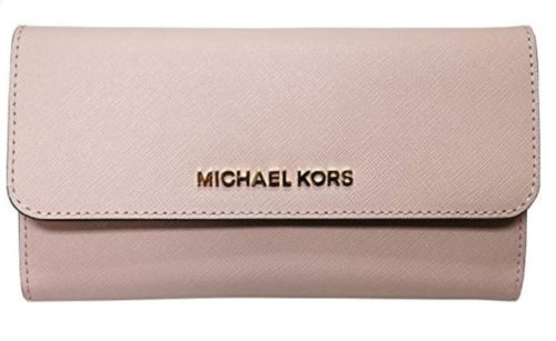 6. Michael Kors Women's Jet Set Travel Large Trifold Wallet