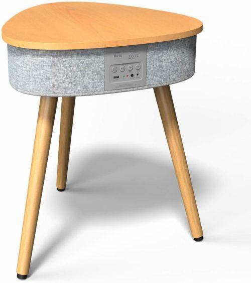 Portable Smart Side Table Bluetooth Speaker- speaker tables