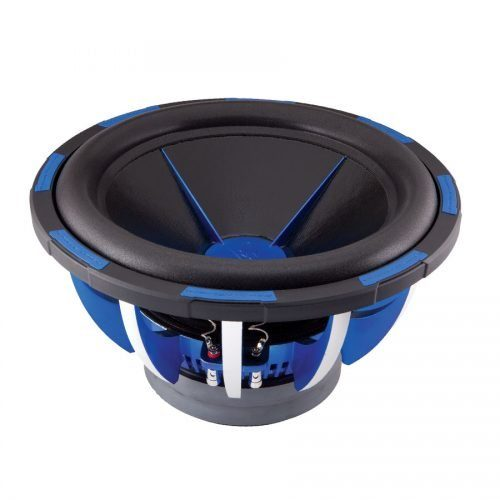 Power Acoustik MOFO-154X MOFO 15-Inch Dual 4-Ohm VC 3000 Watt Pro Subwoofer, Standard Packaging