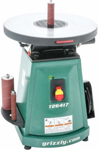 Grizzly Industrial T26417-1/2 HP Benchtop Oscillating Sander