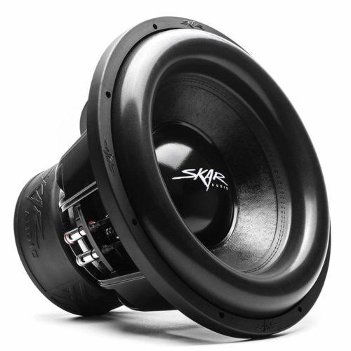 "Skar Audio ZVX-15v2 D2 15"" 3000 Watt Max Power Dual 2 Ohm SPL Car Subwoofer"