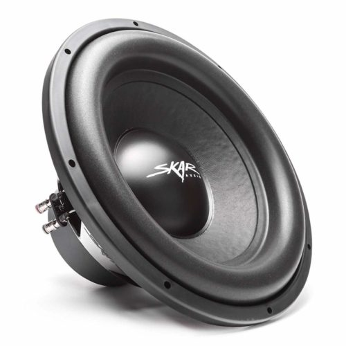 "Skar Audio SDR-15 D2 15"" 1200 Watt Max Power Dual 2 Ohm Car Subwoofer"