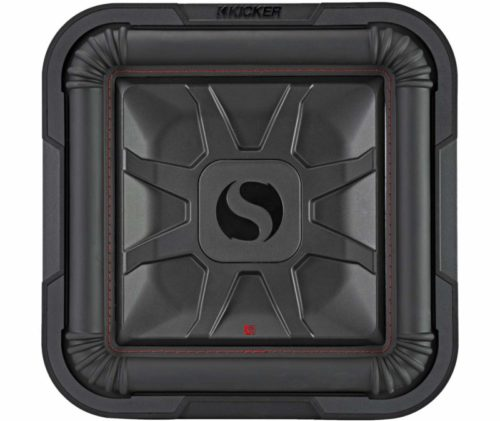 "Kicker 46L7T122 Car Audio L7T Shallow Mount 12"" Sub Square L7 Subwoofer L7T12"