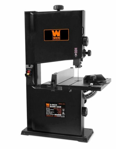 """WEN 3962 Two-Speed Band Saw with Stand and Worklight, 10"""""""