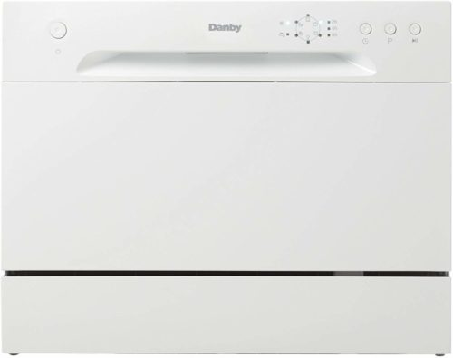 Danby (New Model DDW621WDB Countertop Dishwasher, White (Fivе Расk)