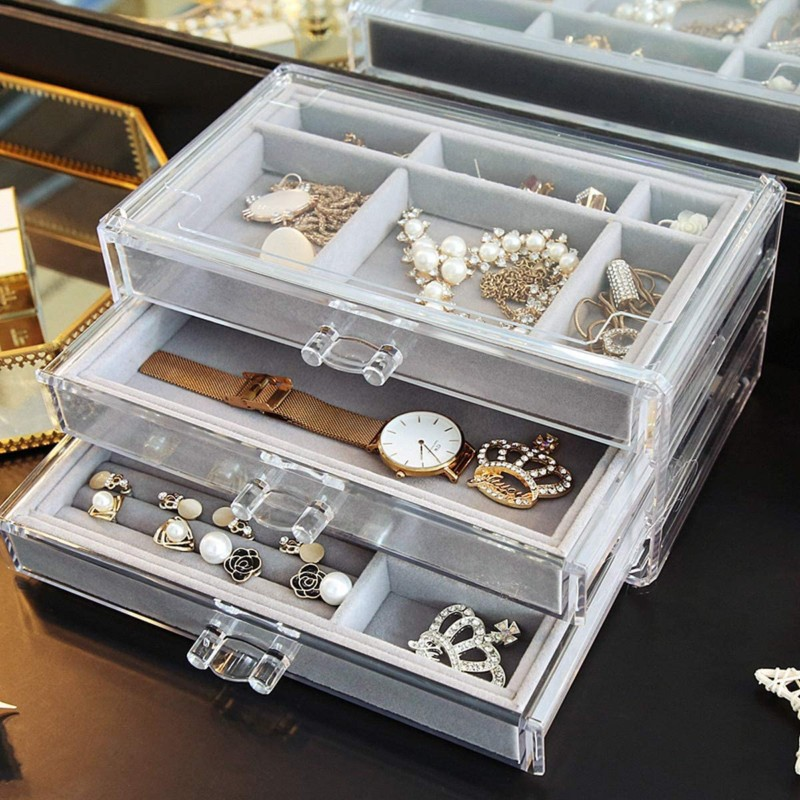 Acrylic-Jewelry-Box-3-Drawers-Velvet-Jewellery-Organizer-Earring-Rings-Necklaces-Bracelets-Display-Case-Gift-for-Women-Girls