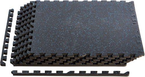 AmazonBasics Rubber Puzzle Exercise Training Mat Foam Tiles