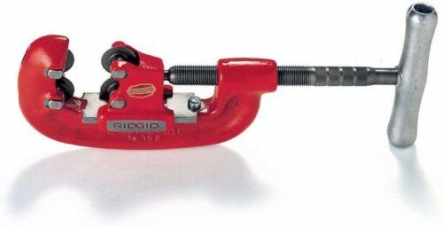 RIDGID 32870 Model 42-A Heavy-Duty 4-Wheel Pipe Cutter, 3/4-inch to 2-inch Steel Pipe Cutter