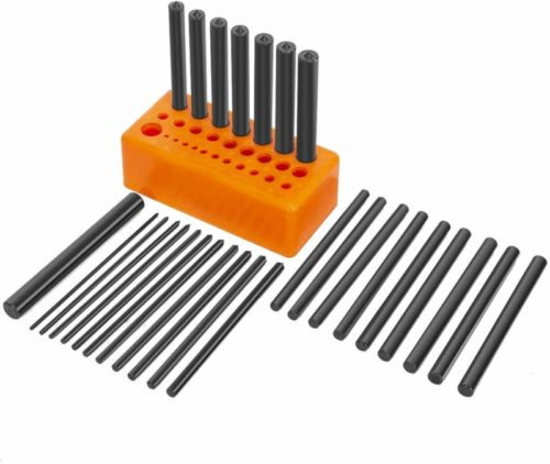 "XtremepowerUS 28 Piece Transfer Punch Set 3/32"" to 1/2"""