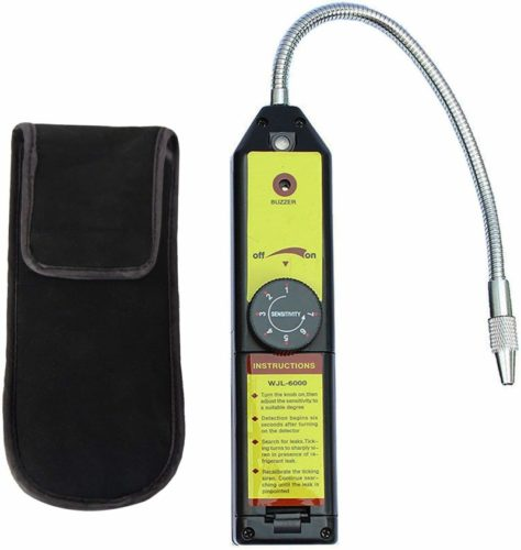 LotFancy Refrigerant Freon Leak Detector for CFCs HCFCs HFCs Halogen R134a R410a R22a R600a R290 Air Condition HVAC