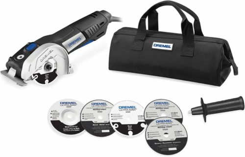 Dremel US40-03 Ultra-Saw Tool Kit with 5 Accessories and 1 Attachment TOP 10 BEST TOE KICK SAWS IN 2020 REVIEWS