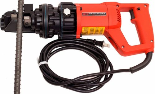 "HIT Tools 29-PMC16E-3 Portable Electric Rebar Cutter, 12.75"" x 2.5"" x 10"", Red"