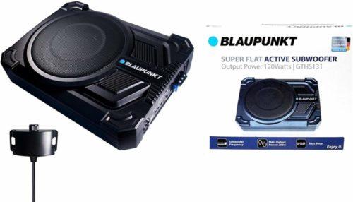 "BLAUPUNKT GTHS131 200W 10"" CAR Under SEAT Super Slim Powered SUBWOOFER Enclosed"