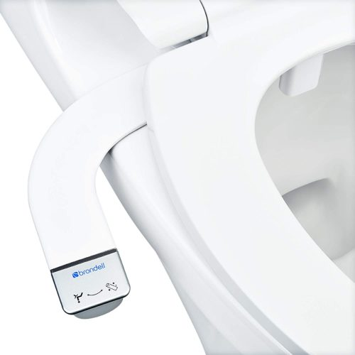 Brondell Bidet - Thinline SimpleSpa SS-150 Fresh Water Spray Non-Electric Bidet