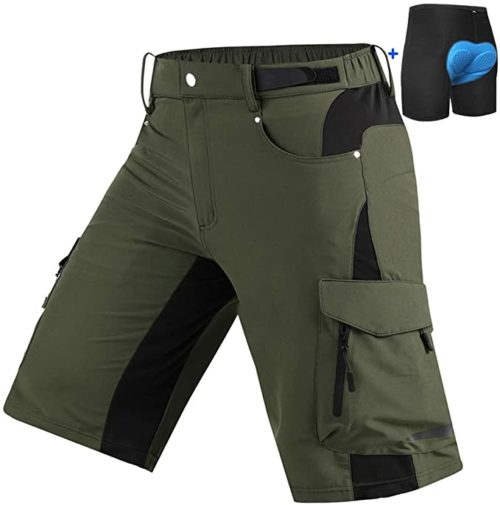 Cycorld Mens Mountain Bike Biking Shorts