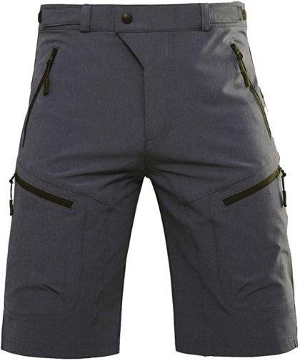 Hiauspor Mens MTB Shorts Mountain Bike Shorts