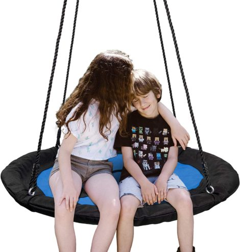 "SUPER DEAL 40"" Waterproof Saucer Tree Swing Set"