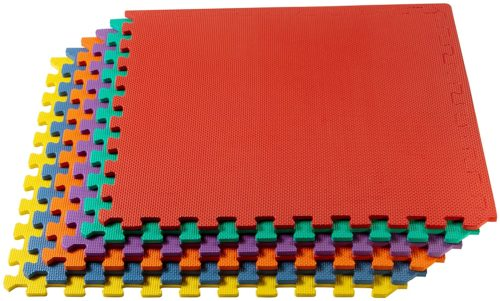 We Sell Mats 3/8 Inch Thick Multipurpose Exercise Floor Mat with EVA Foam
