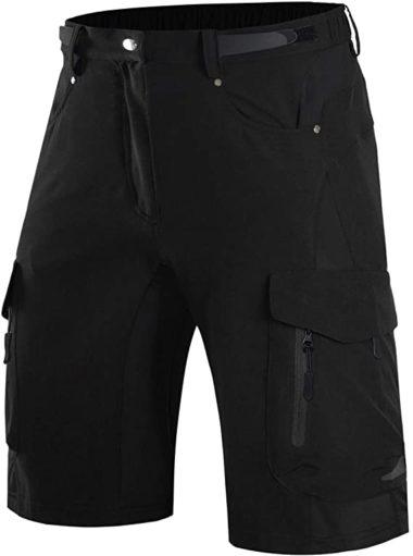 Wespornow Men's-Mountain-Bike-Shorts-MTB-Cycling-Shorts