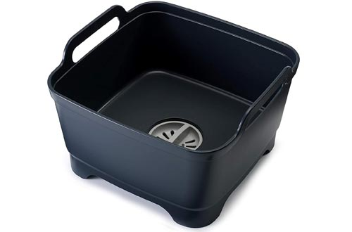 Joseph Joseph Wash and Drain Dish Tub, 1 EA, Gray
